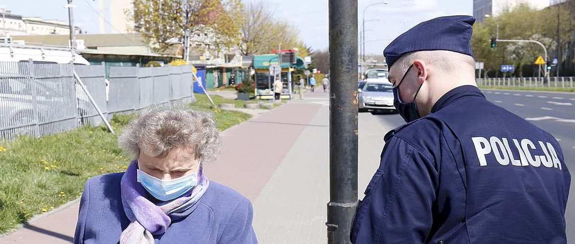 В Польщі продовжують штрафувати за відсутність масок: люди самі дзвонять до поліції