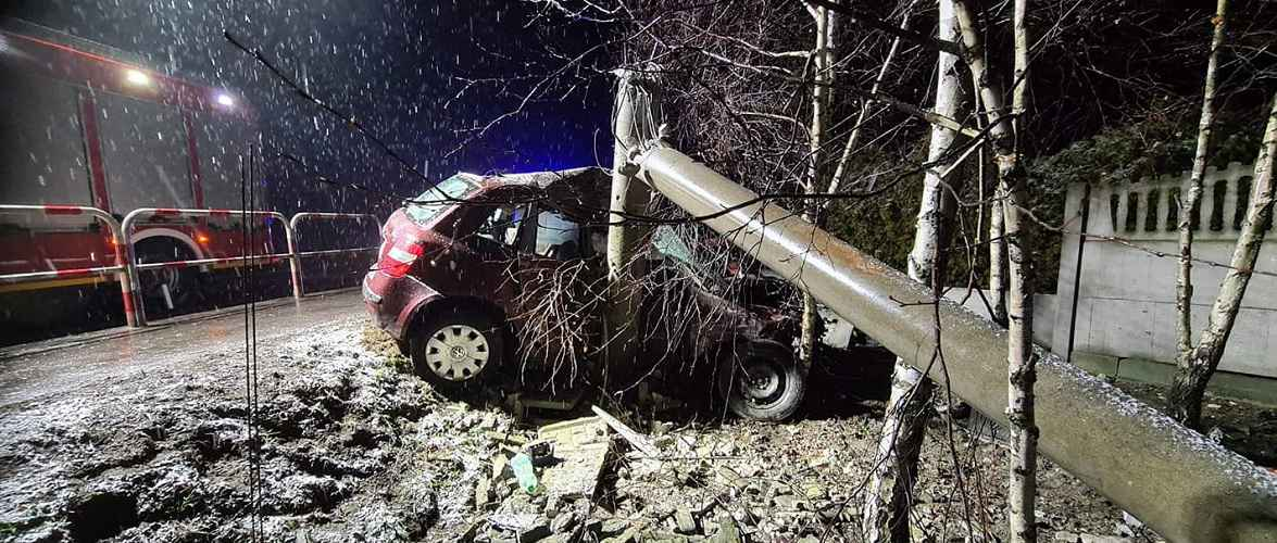 Українка в Польщі потрапила у небезпечну аварію [+ФОТО]