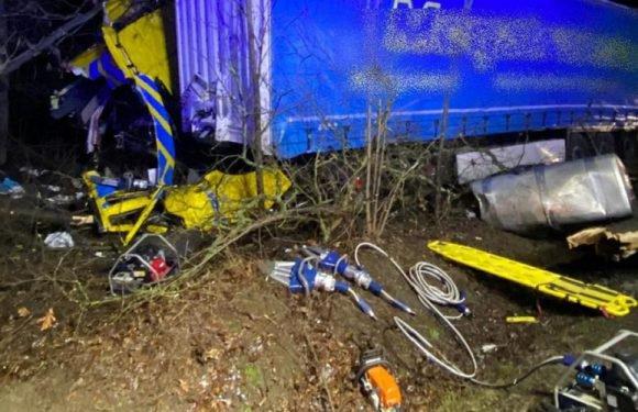 У Польщі загинув водій вантажівки з України