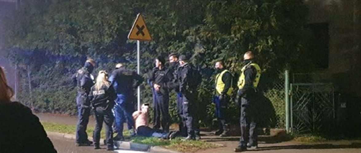 За напад на поліцейського у Польщі українцю загрожує 10 років