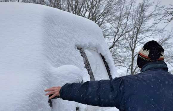 Не почистив машину від снігу? За це можеш в Польщі отримати штраф [+ДЕТАЛІ]