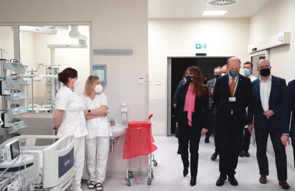 У Варшаві відкрився новий шпиталь для хворих на коронавірус