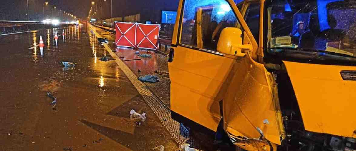 Аварія автобусу з українцями в Польщі — загинула пасажирка [+ФОТО]