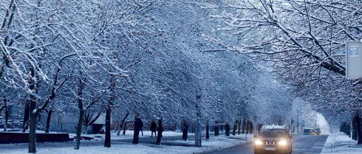 У Польщі температура від +10 до -21 та ожеледиця
