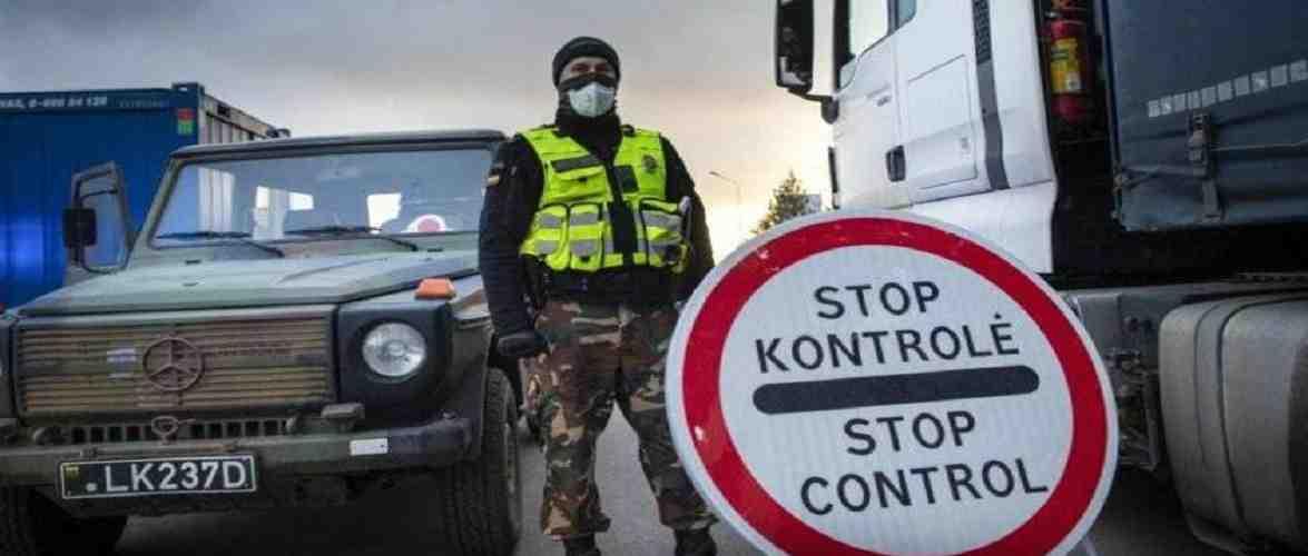 Литва загострює контроль на кордоні з Польщею