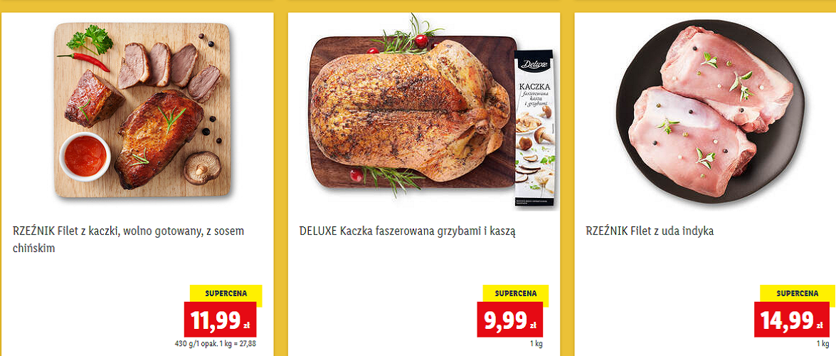 У мережі «Lidl» — акція: можна купити м'ясо, овочі та фрукти за пів ціни