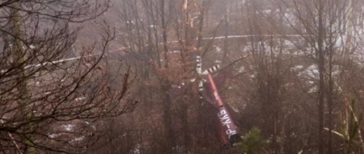 У польській Сілезії розбився гелікоптер, є жертви [+ВІДЕО]