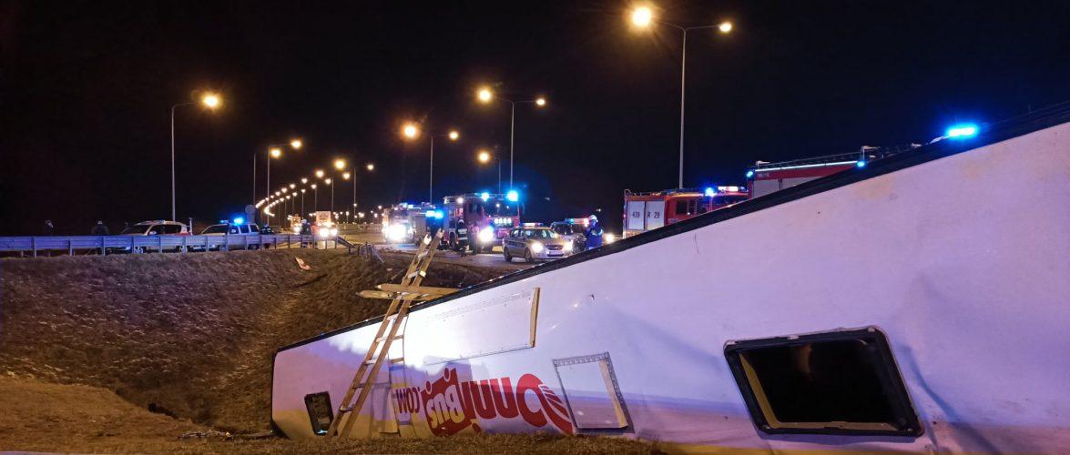 У Польщі автобус з українцями злетів з автостради: 5 осіб загинуло (ВІДЕО, ФОТО)