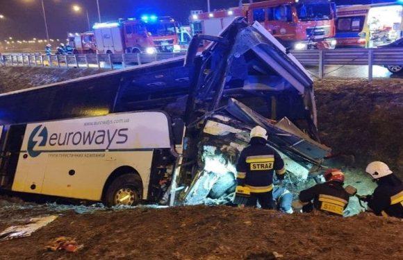 У Польщі перекинувся автобус з українцями — прокуратура заявляє  про перевищення швидкості