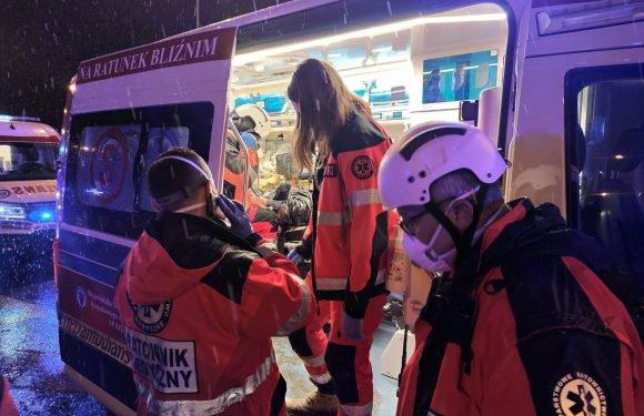 Аварія автобусу з українцями у Польщі: 74-річна жінка у критичному стані