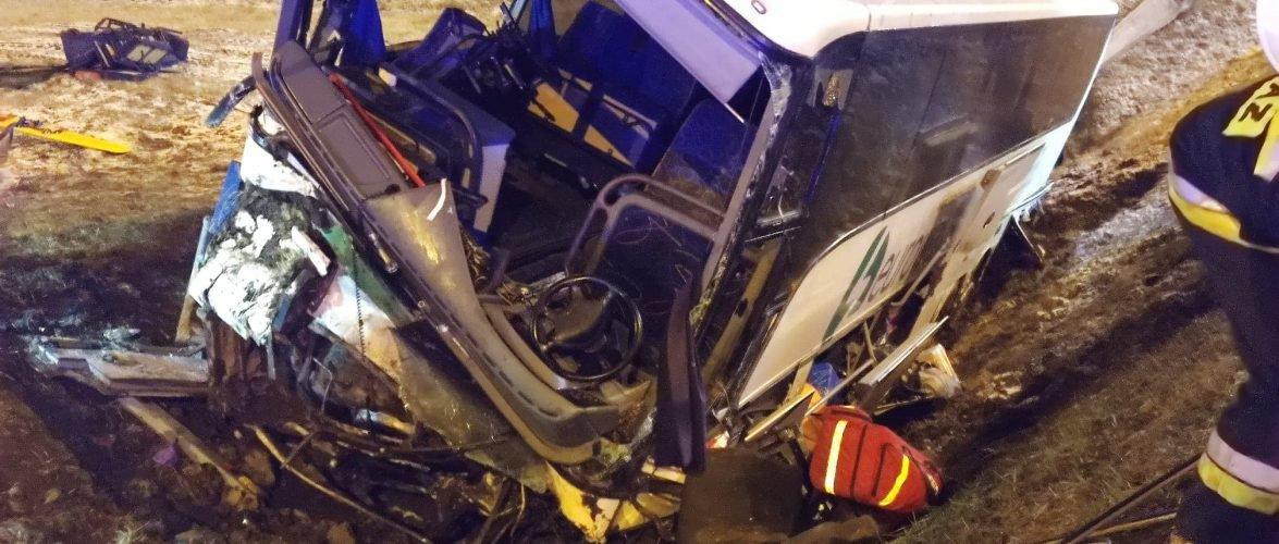 Аварія з українцями у Польщі: причина ДТП — поганий технічний стан автобусу, — водій