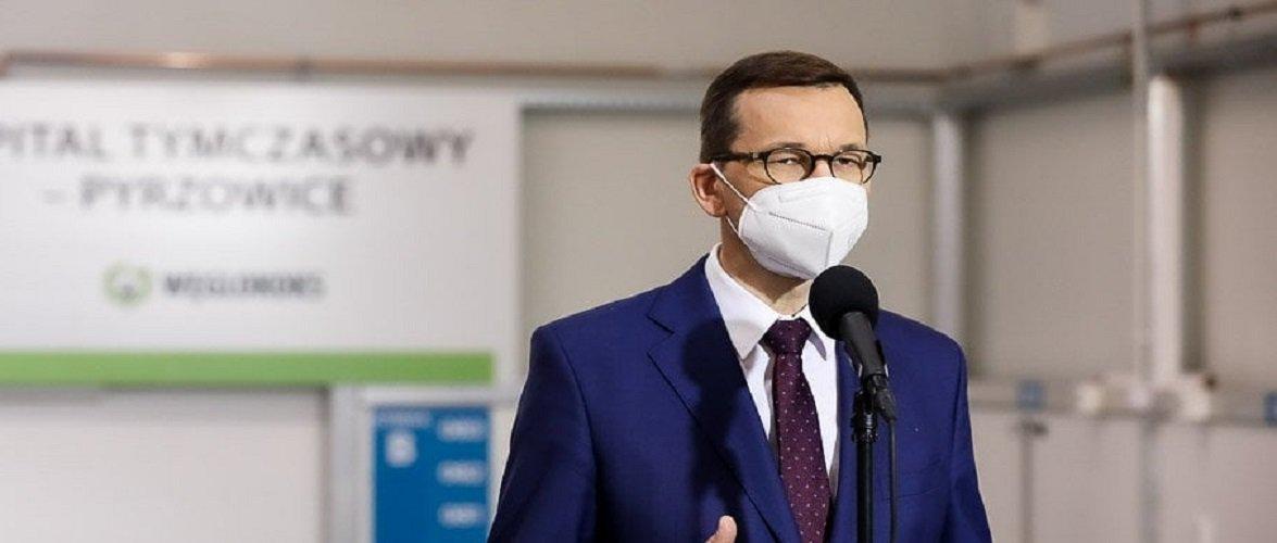 Прем'єр Польщі повідомив, коли будуть нові обмеження в цілій країні