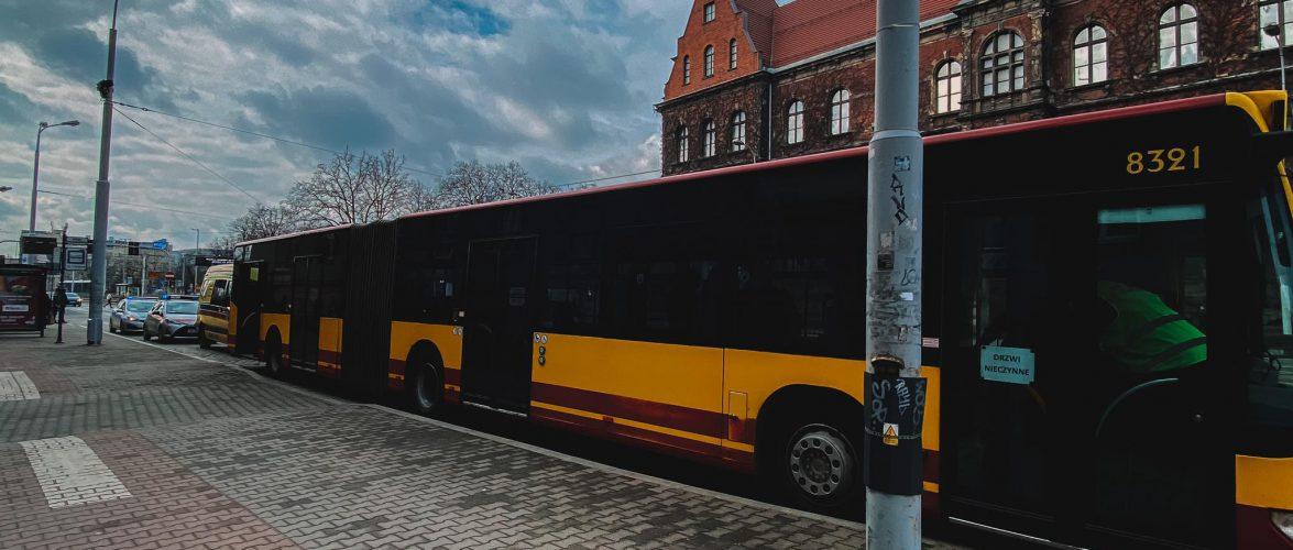 У Вроцлаві пасажирка «перевернулась» у автобусі