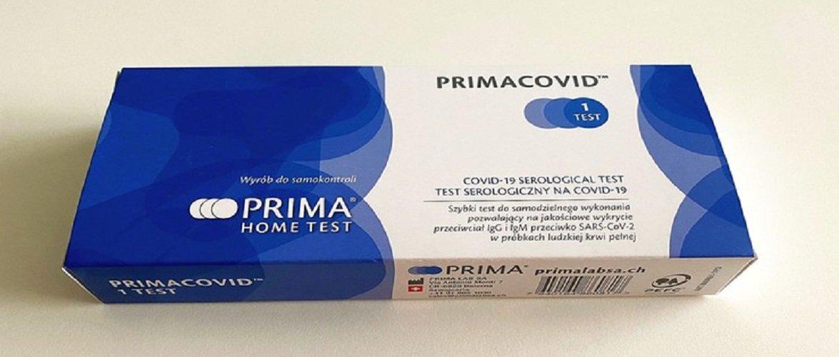 З 15 березня в магазині у Польщі можна придбати тест на коронавірус