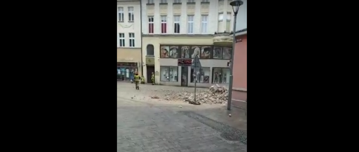 У Польщі завалилося три поверхи житлового будинку [+ВІДЕО]