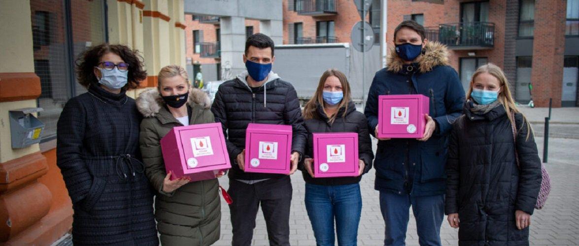 У Вроцлаві з'являться рожеві скриньки з безкоштовними засобами жіночої гігієни
