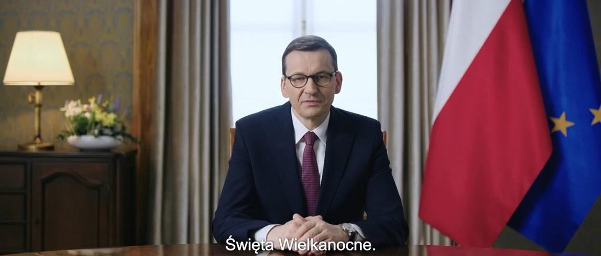 Прем'єр Польщі просить залишатися на Великдень вдома [+ВІДЕО]