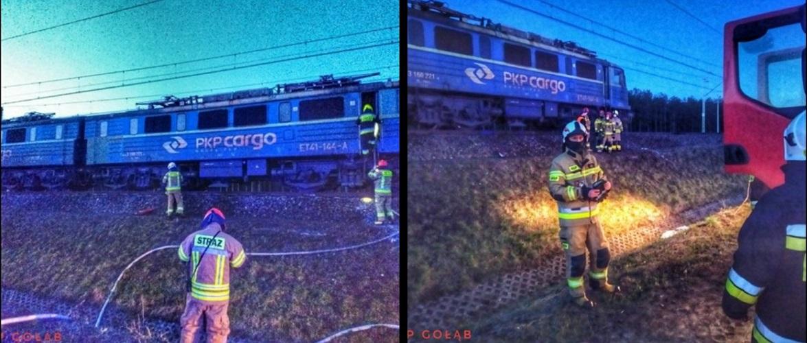 В Польщі загорівся вантажний потяг: всередині був машиніст [+ФОТО]