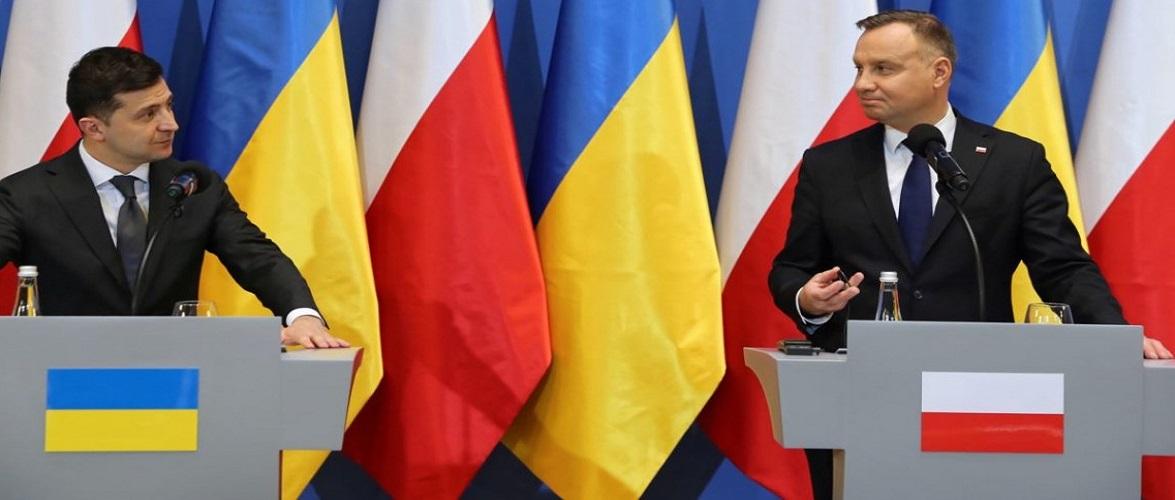 3 травня до Польщі з візитом прибуде Зеленський, а в серпні Дуда відвідає Україну