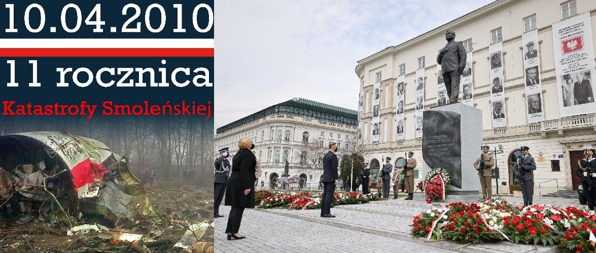 Сьогодні в Польщі вшанували пам'ять загиблих у Смоленській катастрофі