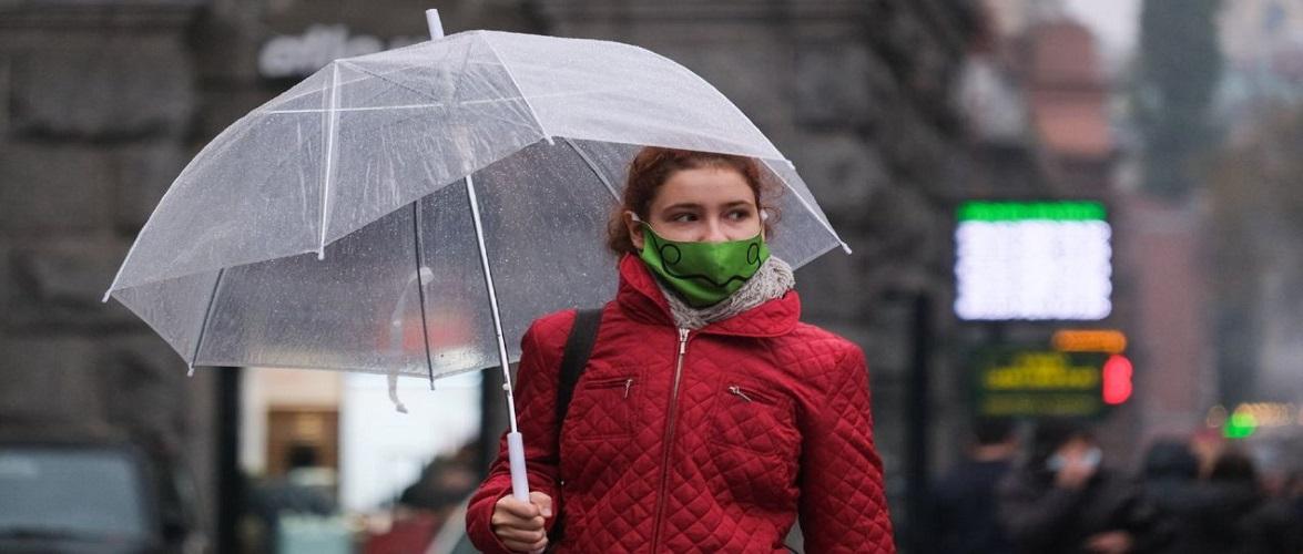 Сьогодні на Польщу чекає дощ та сніг