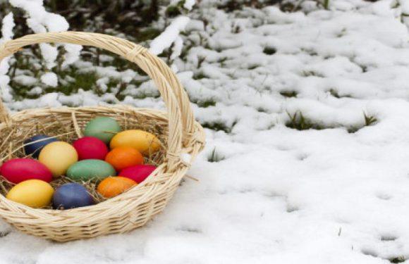 Після Великодня в Польщі слід очікувати опадів дощу та снігу
