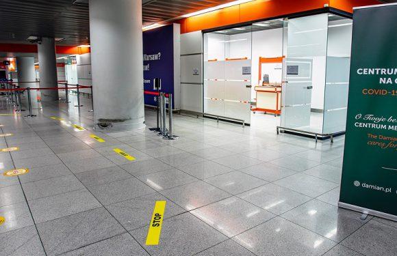 У Варшавському аеропорту відкрили третій пункт для тестування на коронавірус