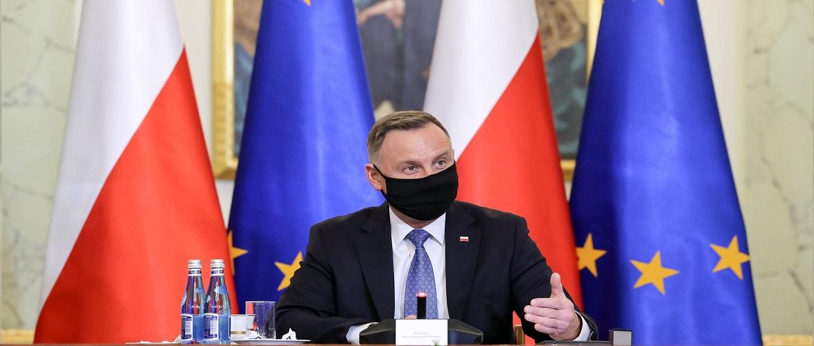 Президент Польщі зареєструвався на щеплення від коронавірусу