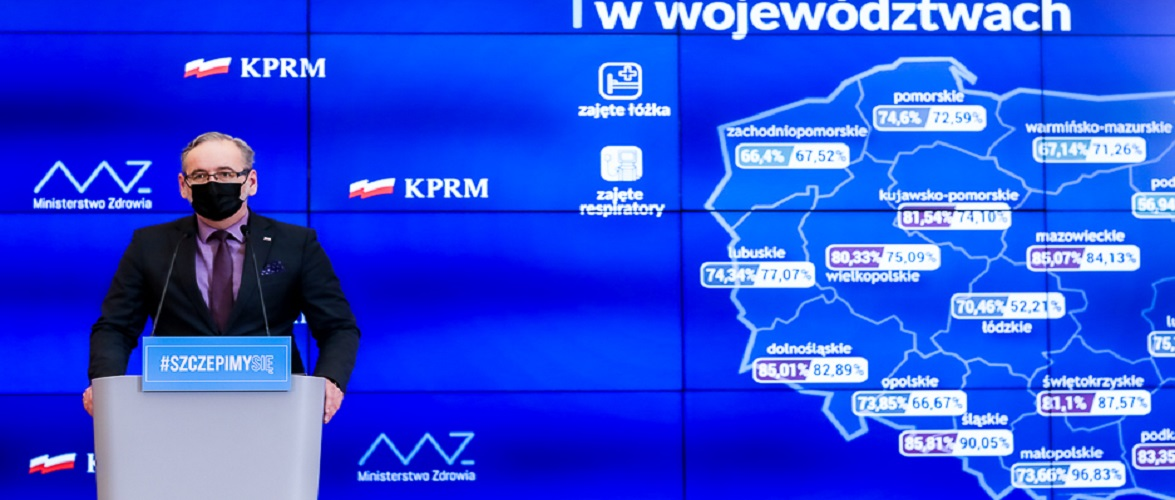 В Польщі продовжили діючі обмеження до 18 квітня