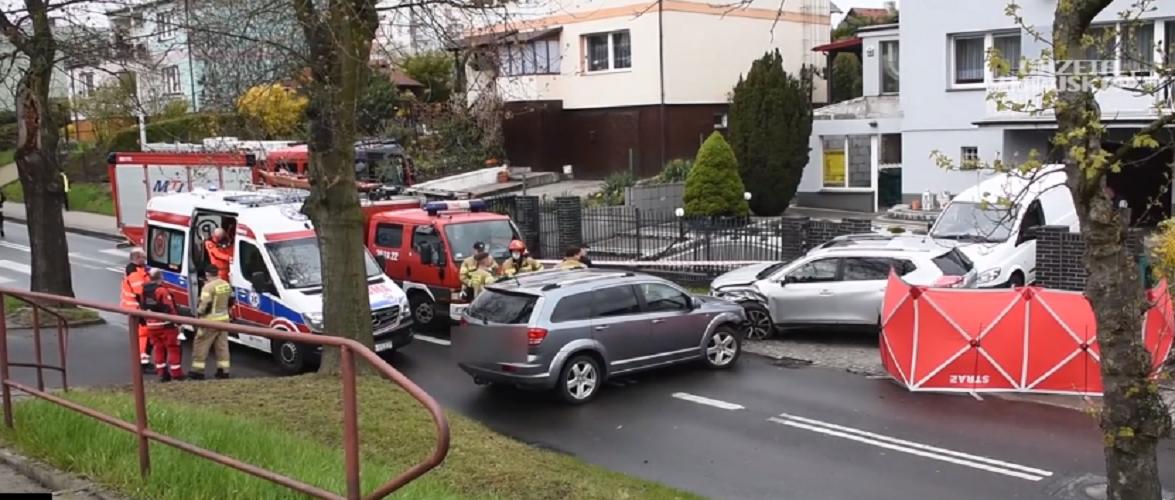 В Польщі авто насмерть збило чоловіка на очах його трьох дітей
