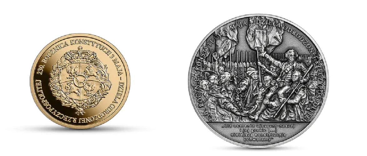 В Польщі випустили колекційні монети, номіналом 50 і 100 злотих [+ФОТО]