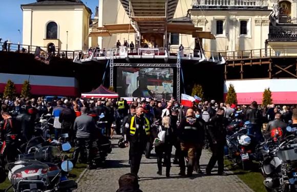 В Ченстохові у Польщі зібралося понад 10 тисяч байкерів: поліція шукає винних