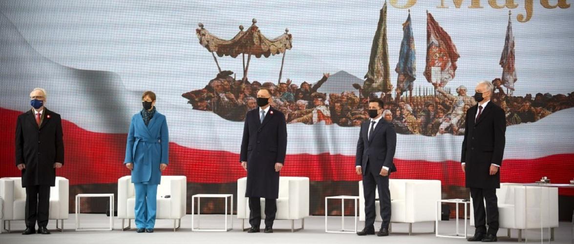 «Литва не прийме анексію Криму» підтвердив президент Гітанас Науседа у Варшаві