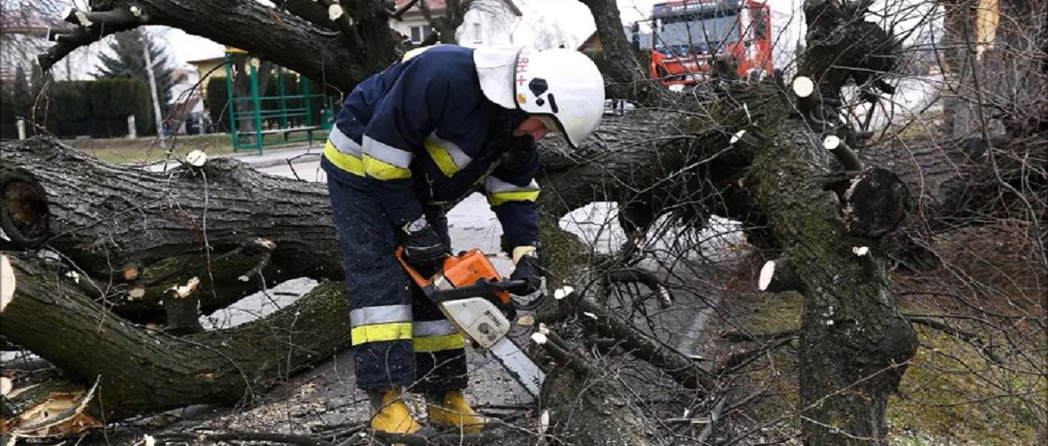 Через негоду у Польщі 1,3 тисячі втручань пожежників