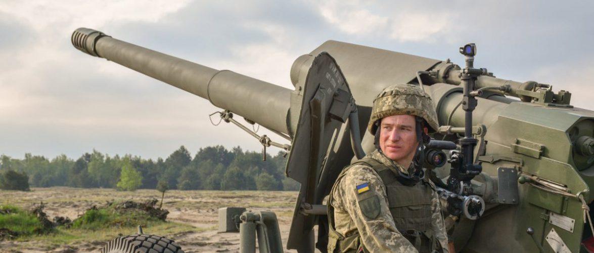 Українські артилеристи проходять навчання в Польщі [+ФОТО]