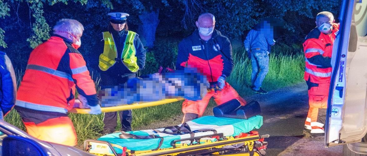 В Польщі водійка збила на дорозі 30-річного українця, той у важкому стані [+ФОТО]