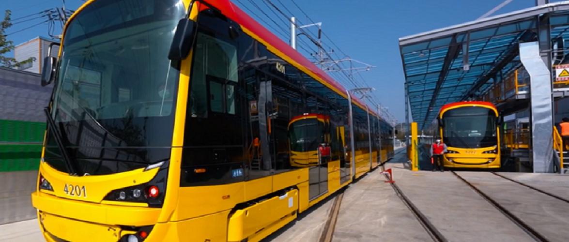 У Варшаві будуть нові сучасні трамваї [+ФОТО, ВІДЕО]