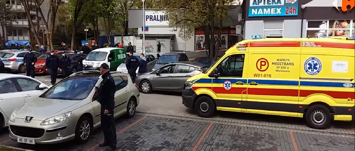 Стрілянина у Варшаві: поліція підстрелила злочинця, який зарізав чоловіка у пральні