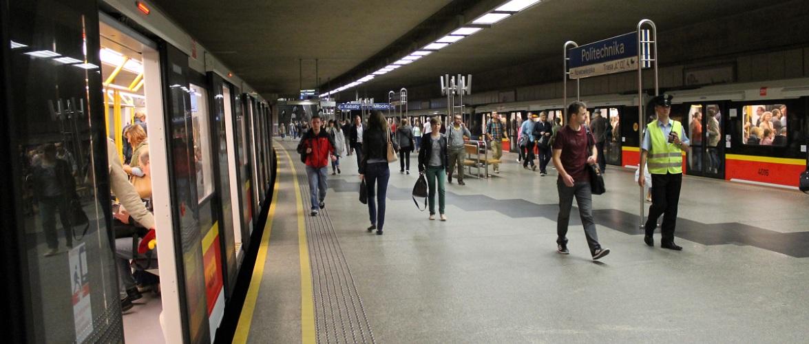 У Варшаві терміново закрили 10 станцій метро