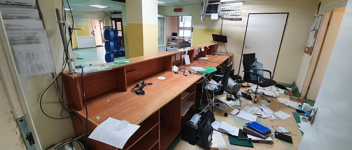 У Польщі пацієнт розгромив лікарню [+ФОТО]