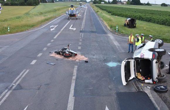 Аварія в Польщі: мотоцикл збив авто, двоє людей загинуло