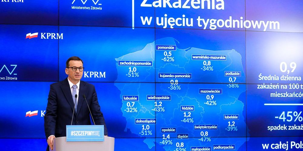 Уряд Польщі знову коригує карантинні обмеження: що зміниться з 13 червня?