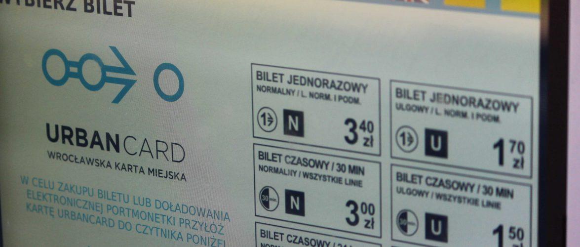 У Вроцлаві знову подорожчають квитки на громадський транспорт