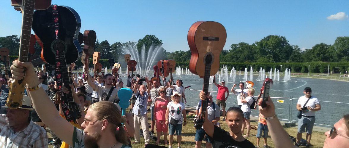 Гітарний рекорд Гіннеса 2021 у Вроцлаві не вдалося побити (ФОТО, ВІДЕО)