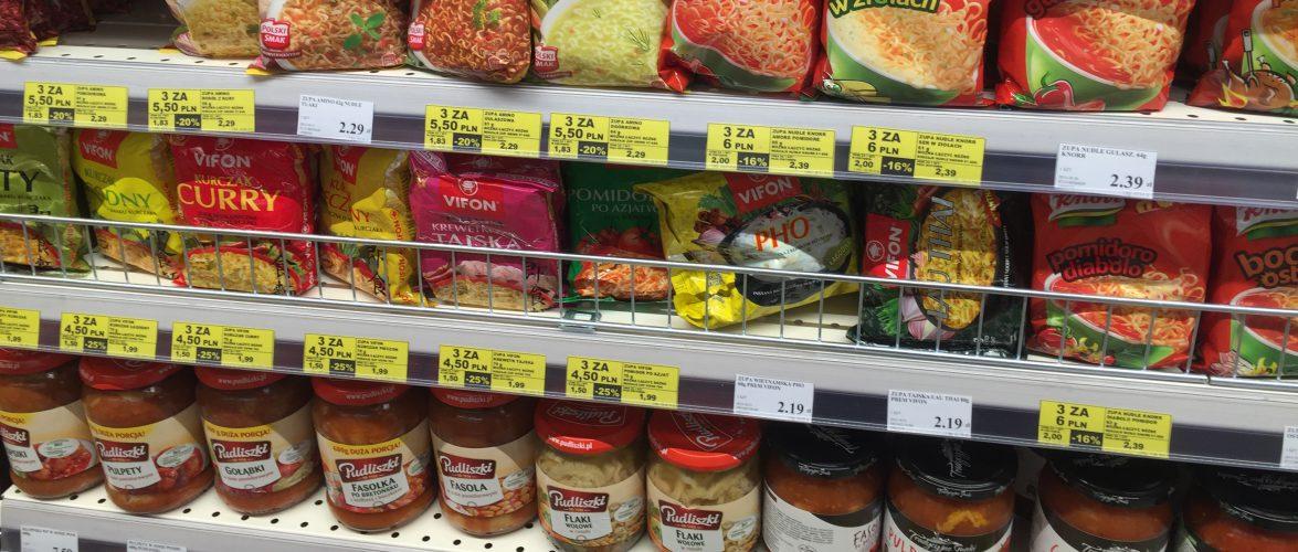 У Польщі суттєво зросли ціни на споживчі товари і послуги