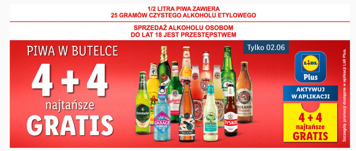 Biedronka i Lidl сьогодні роздають безкоштовне пиво за закупи
