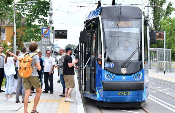 У Вроцлаві облаштували нову трамвайно-автобусну трасу [+ФОТО]