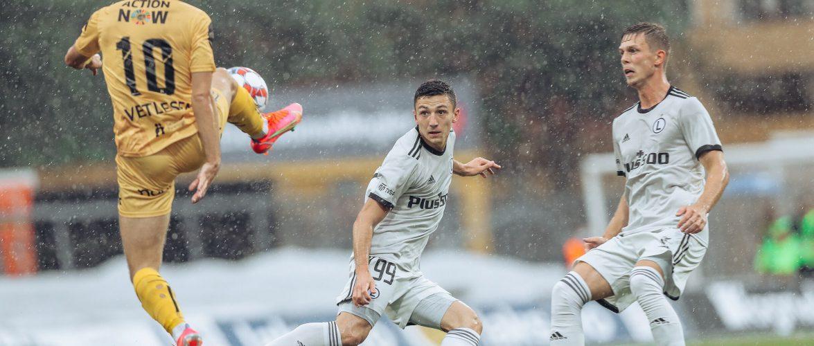 «Легия» вышла во второй раунд квалификации Лиги чемпионов, одолев «Будё-Глимт»
