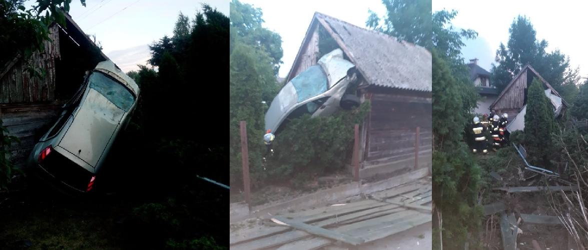 У Польщі водій «припаркувався» вертикально… на стіні будівлі [+ФОТО]