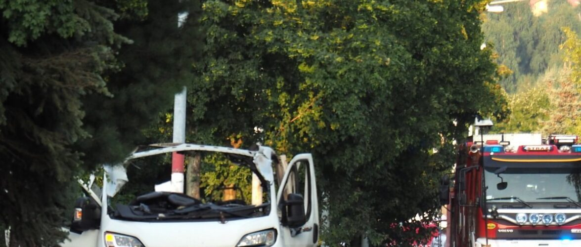 Під магазином у Польщі вибухнуло авто: двоє людей загинуло, ще одна у важкому стані